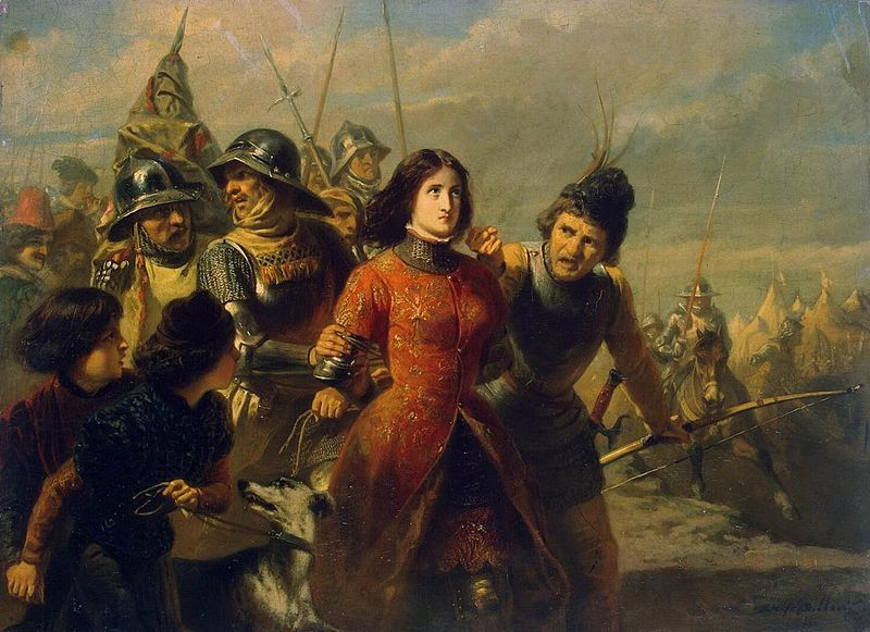 800px-Adolphe_Alexandre_Dillens_-_Capture_of_Joan_of_Arc_-_WGA06347