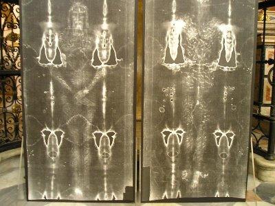 Santo Sudario, replica