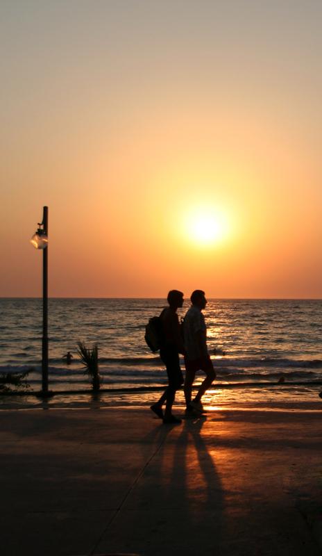 Sunset together