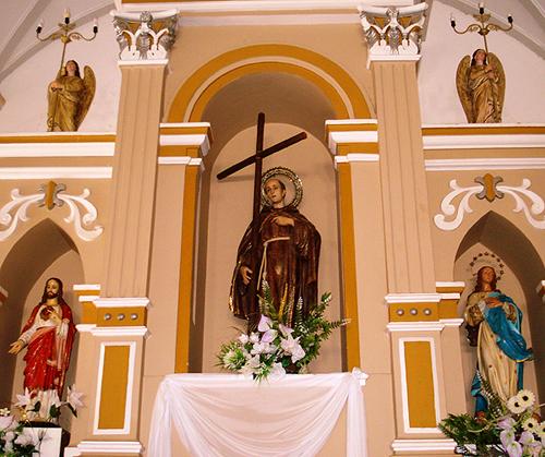 Altar da igreja de Floriano1