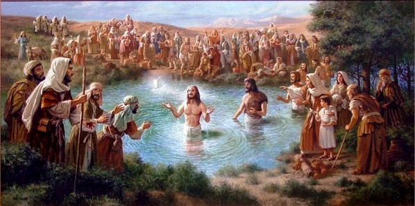 baptismo de Jesus