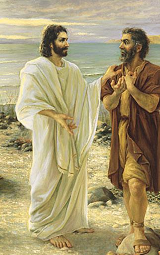 Resultado de imagem para imagem de pedro tu me amas - em site católico