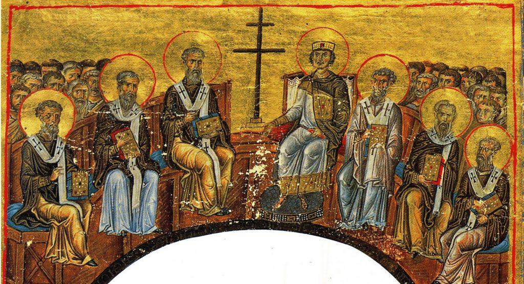 obispos en concilio